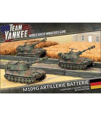 World War III Team Yankee M109G Panzerartillerie Batterie
