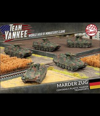 World War III Team Yankee Marder Zug (Plastic)