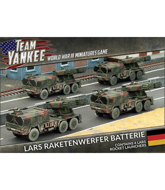 World War III Team Yankee Raketenwerfer Batterie