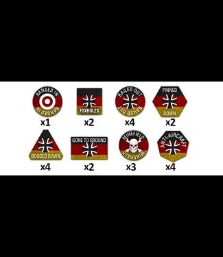 World War III Team Yankee West German Token Set