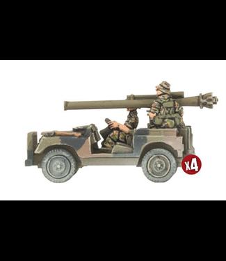 World War III Team Yankee Anti-tank Land Rover Section