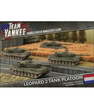 World War III Team Yankee Leopard 2 Tank Platoon