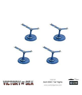 Victory at Sea Aichi D3A1 Val Flights