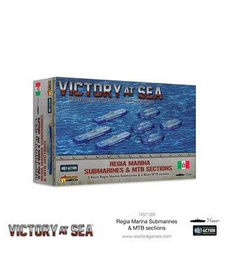 Victory at Sea Regia Marina Submarines & MTB sections
