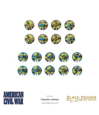 Epic Battles: ACW Pre-order: Epic Battles: ACW Casualty Markers