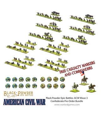 Epic Battles: ACW Pre-order: Epic Battles: ACW Wave 3 Confederate Bundle