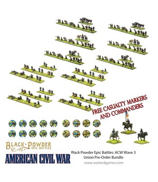 Epic Battles: ACW Pre-order: Epic Battles: ACW Wave 3 Union Bundle