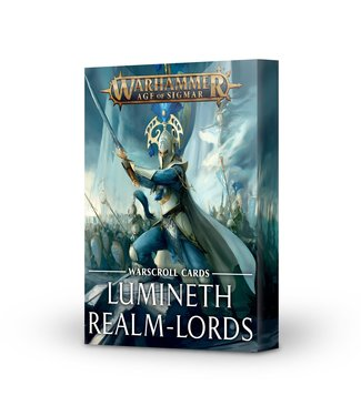 Age of Sigmar Warscroll Cards: Lumineth Realm-lords