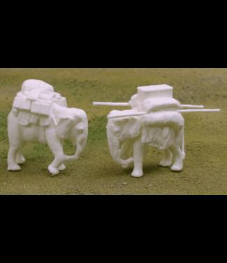 Empress Miniatures Baggage Elephant (LA25)