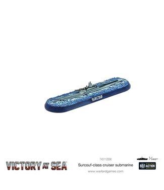 Victory at Sea Surcouf cruiser submarine
