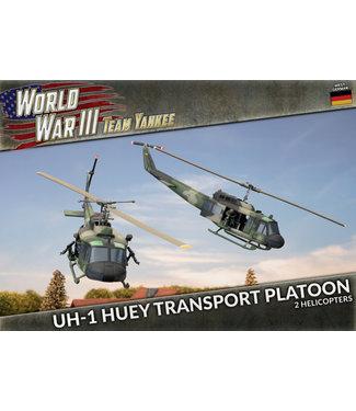 World War III Team Yankee UH-1 Transport Platoon (Plastic)