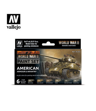 Vallejo WWII American Armour & Infantry