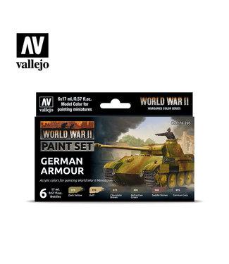 Vallejo WWII German Armour