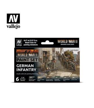 Vallejo WWII German Infantry