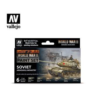 Vallejo WWII Soviet Armour & Infantry