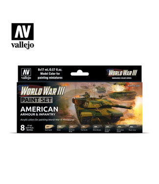 Vallejo WWIII American Armour & Infantry