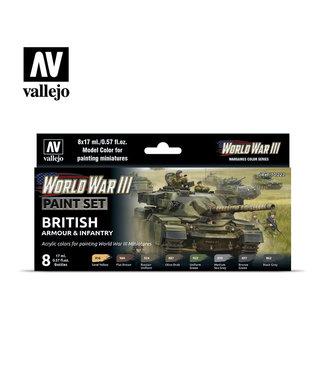 Vallejo WWIII British Armour & Infantry