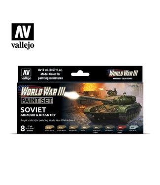 Vallejo WWIII Soviet Armour & Infantry