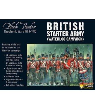 Black Powder Napoleonic British starter army (Waterloo campaign)