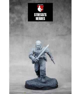 "Stoessi's Heroes British Army Lt. Col. – John Malcolm Thorpe Fleming ""Mad Jack"" Churchill"