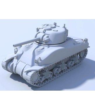 Blitzkrieg Miniatures M4A1 Sherman - 1/56 Scale