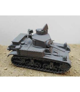 Blitzkrieg Miniatures M3A1 Stuart Mid Production - 1/56 Scale