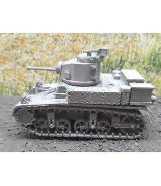 Blitzkrieg Miniatures M3 Stuart - 1/56 Scale