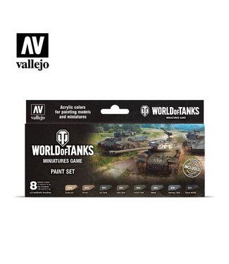 Vallejo World of Tanks Paint Set