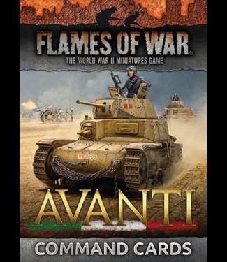 Flames of War Avanti Command Card