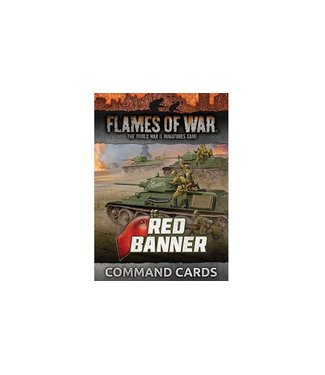 Flames of War Red Banner Command Cards