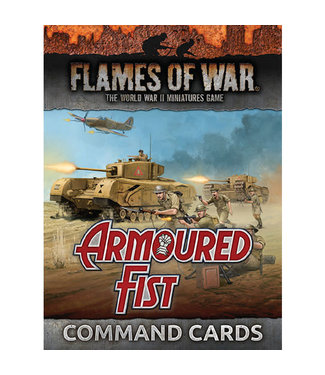Flames of War Armoured Fist Command Cards