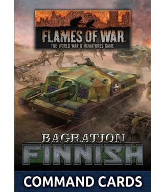 Flames of War Bagration: Finnish Command Cards