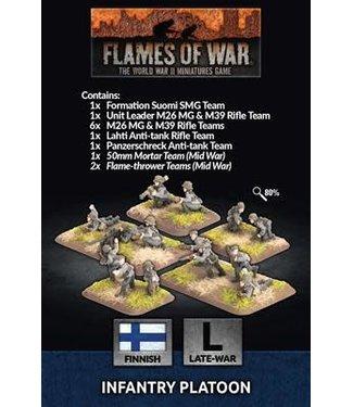 Flames of War Infantry Platoon (FIN)