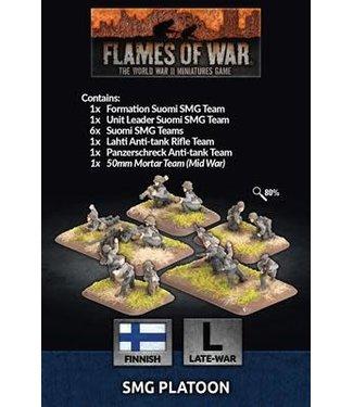 Flames of War SMG Platoon (FIN)