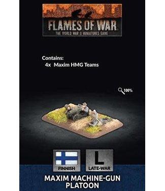 Flames of War Maxim Machine-Gun Platoon (FIN)