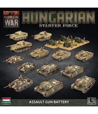 Flames of War Pre-order: Hungarian Starter Force: Zrinyi Assault Gun Battery (Plastic)