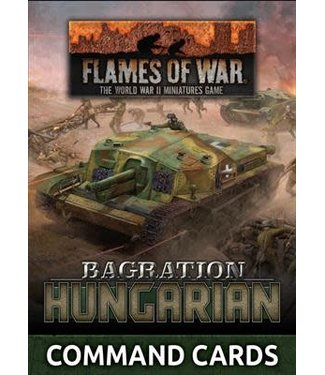 Flames of War Bagration: Hungarian Command Cards