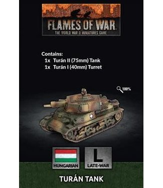 Flames of War Pre-order: Turán tank