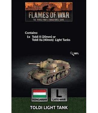 Flames of War Pre-order: Toldi II Tank