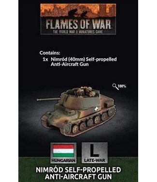 Flames of War Pre-order: Nimrod SP AA