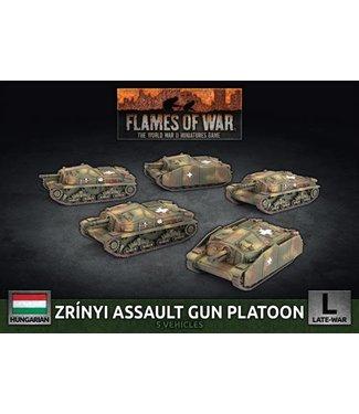 Flames of War Zrinyi Assault Gun Platoon (Plastic)