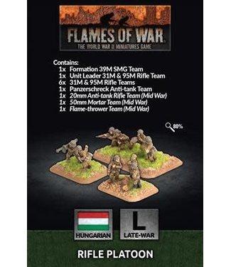Flames of War Rifle Platoon (HUN)