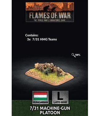 Flames of War 7/31 MG Platoon