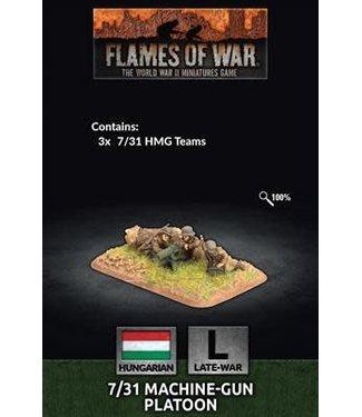 Flames of War Pre-order: 7/31 MG Platoon