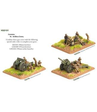 Flames of War Pre-order: Hungarian Artillery Group