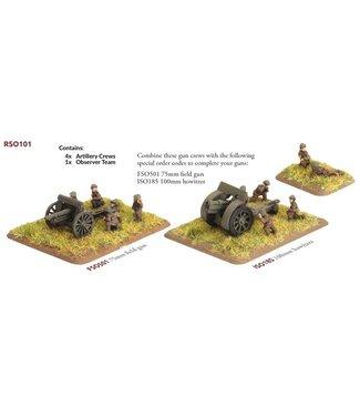 Flames of War Pre-order: Anti-tank Gun Crew