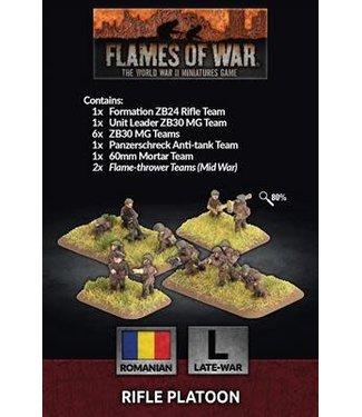 Flames of War Pre-order: Rifle Platoon (ROM)