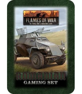 Flames of War Pre-order: Romanian Gaming Tin