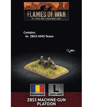 Flames of War Pre-order: ZB53 Machine-gun Platoon
