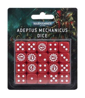 Warhammer 40.000 Adeptus Mechanicus Dice Set